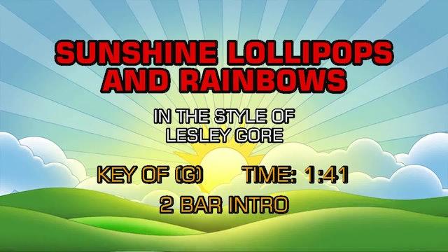 Lesley Gore - Sunshine, Lollipops And Rainbows