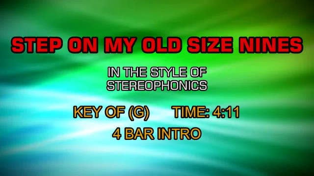 Stereophonics - Step On My Old Size N...