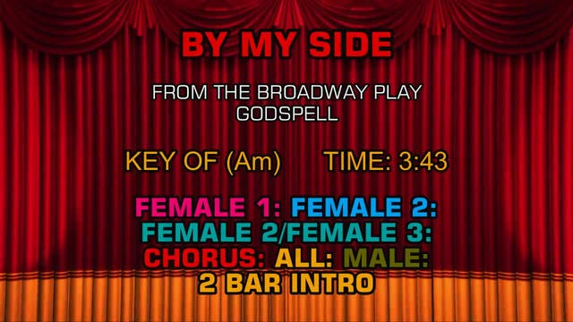 Godspell - By My Side