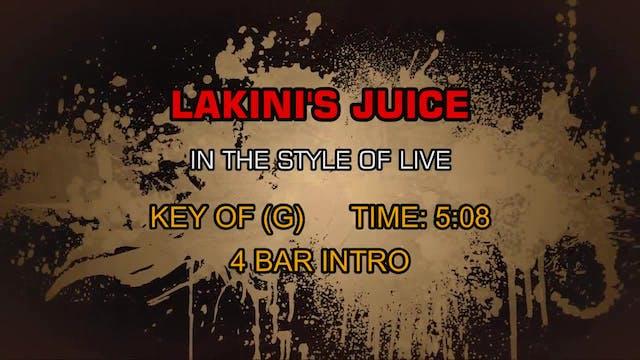 Live - Lakini's Juice