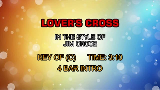 Jim Croce - Lover's Cross