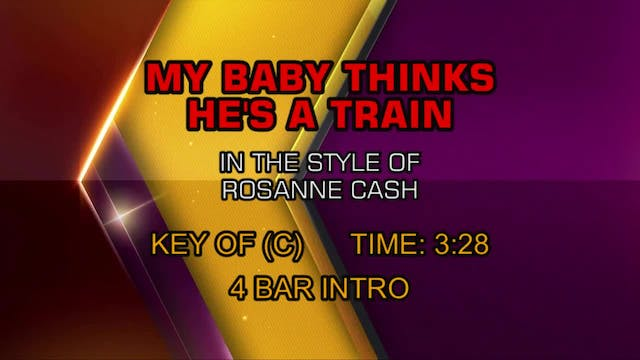 Rosanne Cash - My Baby Thinks He's A ...
