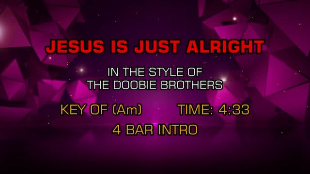 Doobie Brothers, The - Jesus Is Just ...