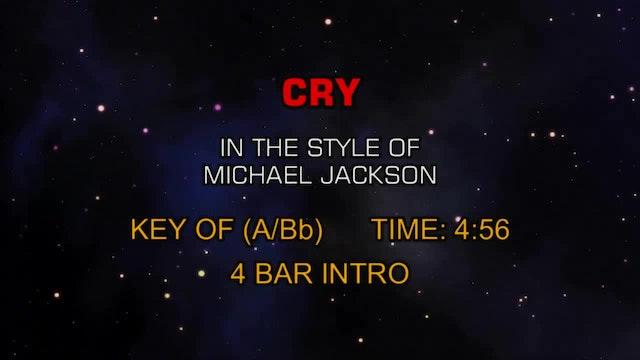 Michael Jackson - Cry (You Can Change...
