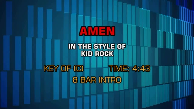 Kid Rock - Amen