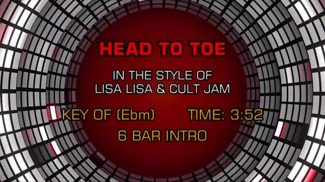 Lisa Lisa & Cult Jam - Head To Toe