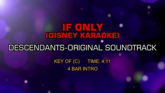 Descendants-Original Soundtrack - If Only