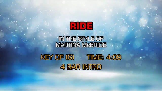 Martina McBride - Ride