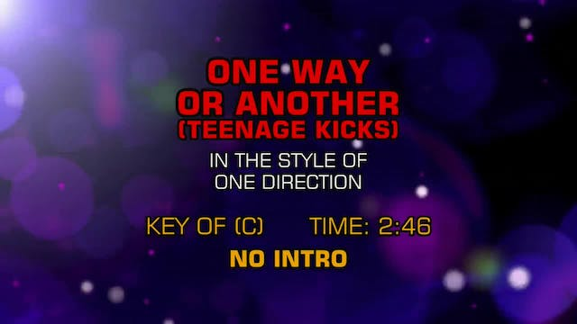 One Direction - One Way Or Another (T...