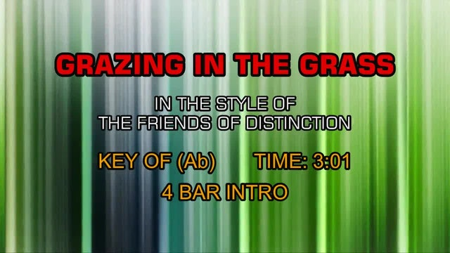 Friends Of Distinction, The - Grazing In The Grass