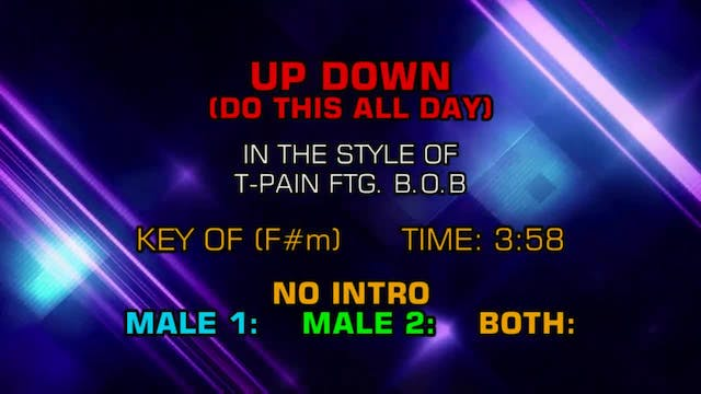 T-Pain ftg. B.o.B. - Up Down (Do This...