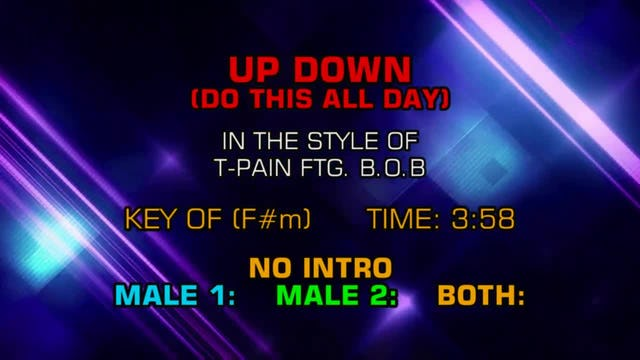 T-Pain ftg. B.o.B. - Up Down (Do This All Day)