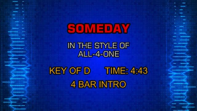 All-4-One - Someday