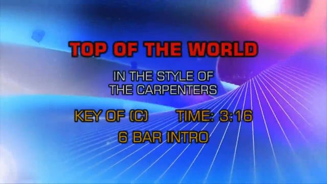 Carpenters, The - Top Of The World