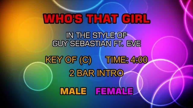 Guy Sebastian ft. Eve - Who's That Girl