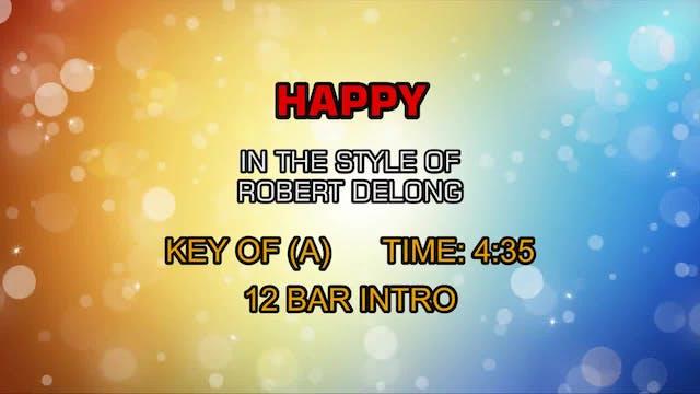 Robert Delong - Happy