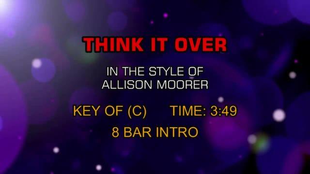 Allison Moorer - Think It Over