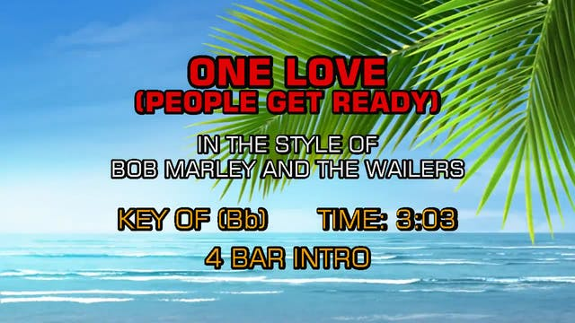 Bob Marley And The Wailers - One Love...