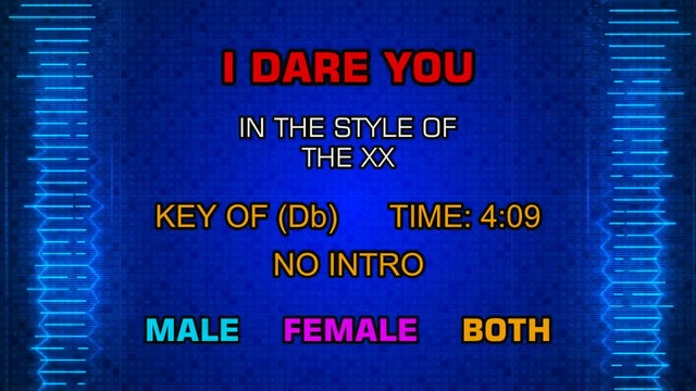 The XX - I Dare You