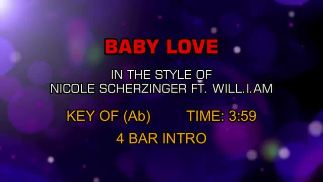Nicole Scherzinger and Will.i.am - Baby Love