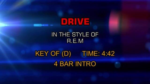 R.E.M. - Drive