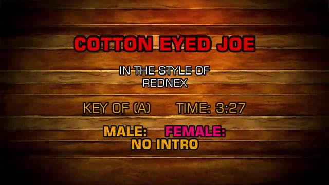 Rednex - Cotton Eyed Joe