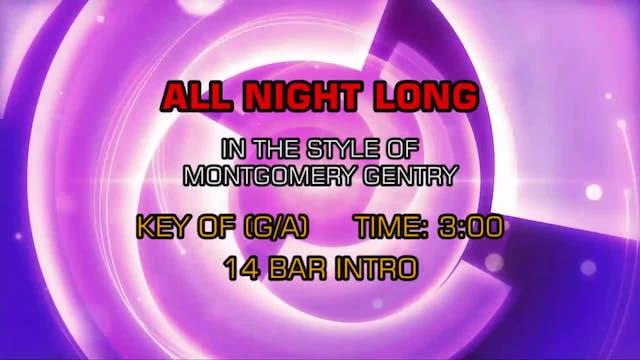 Montgomery Gentry - All Night Long
