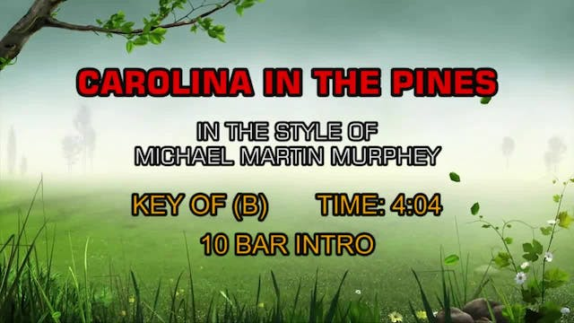 Michael Martin Murphey - Carolina In ...