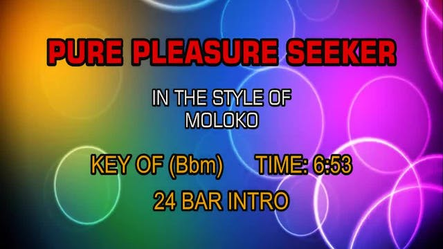 Moloko - Pure Pleasure Seeker
