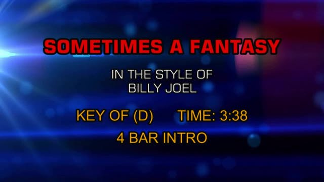 Billy Joel - Sometimes A Fantasy