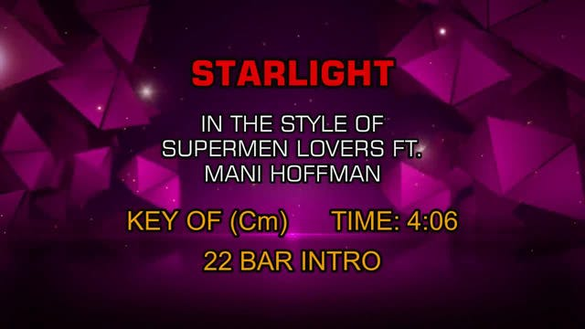 Supermen Lovers - Starlight