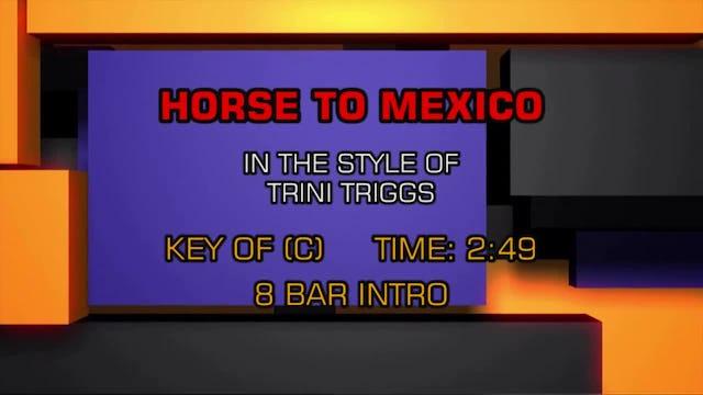 Trini Triggs - Horse To Mexico