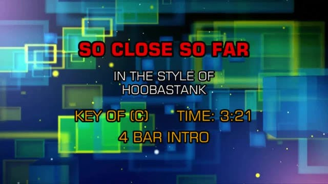 Hoobastank - So Close So Far