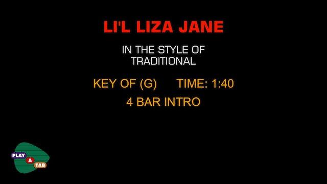 Standard - Li'l Liza Jane - Play A Tab