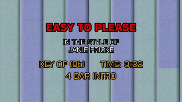 Janie Fricke - Easy To Please