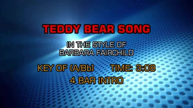 Barbara Fairchild - Teddy Bear Song