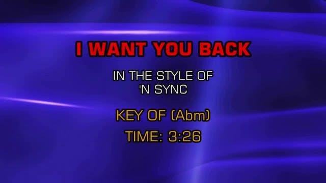 NSYNC - I Want You Back