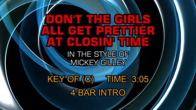 Mickey Gilley - Don't The Girls All G...