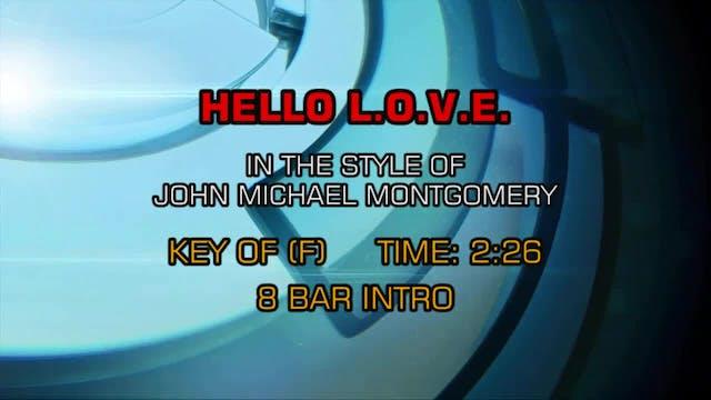 John Michael Montgomery - Hello L. O....