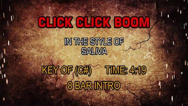 Saliva - Click Click Boom