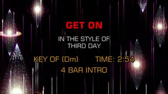 Third Day - Get On