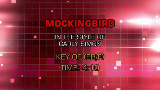 Carly Simon - Mockingbird