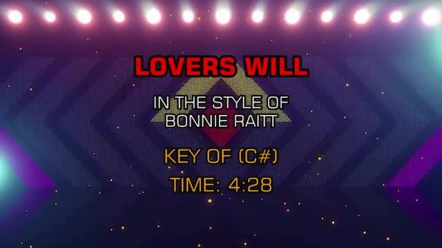 Bonnie Raitt - Lovers Will