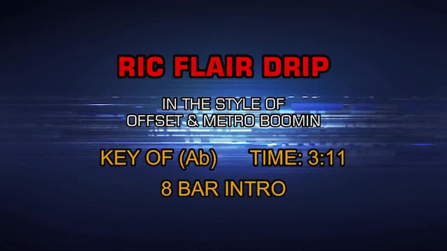 Offset and Metro Boomin - Ric Flair Drip