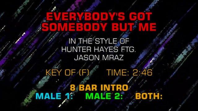 Hunter Hayes ftg. Jason Mraz - Everyb...