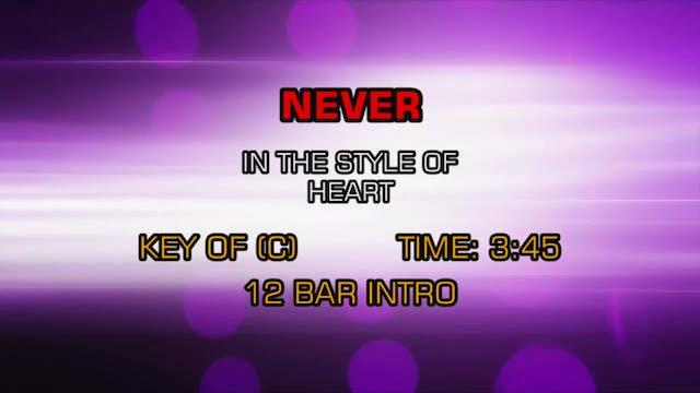 Heart - Never