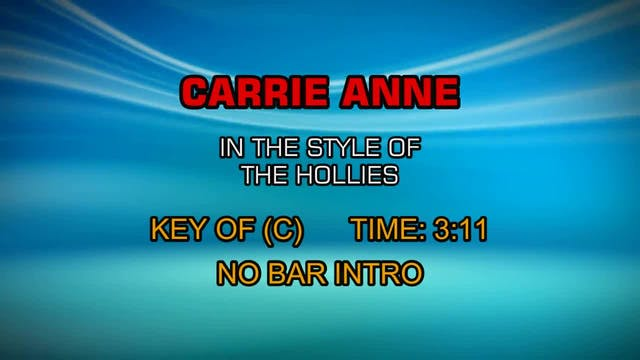 Hollies, The - Carrie-Anne