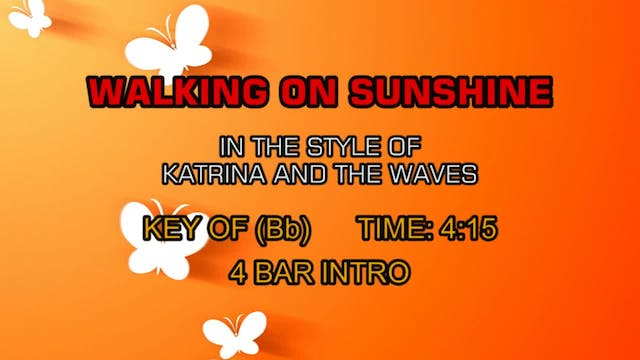 Katrina And The Waves - Walking On Su...