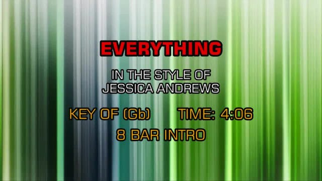 Jessica Andrews - Everything