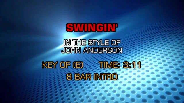 John Anderson - Swingin'